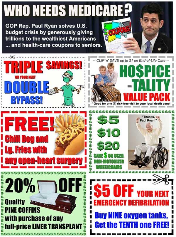 Medicare voucher coupon